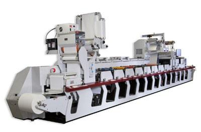 Mark Andy p5 Etikettendruckmaschine