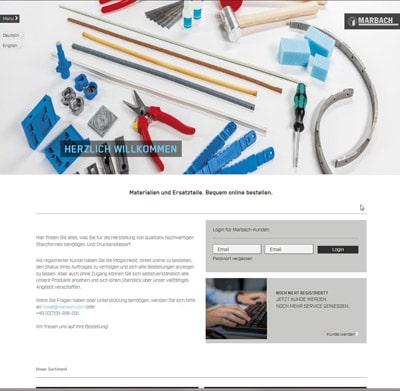 Marbach Webshop