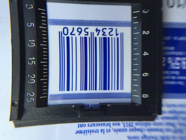 Feine Elemente wie Barcodes stehen mit Full HD wesentlicher sauberer und klarer auf dem Etikett und sind vom Scanner optimal zu erfassen