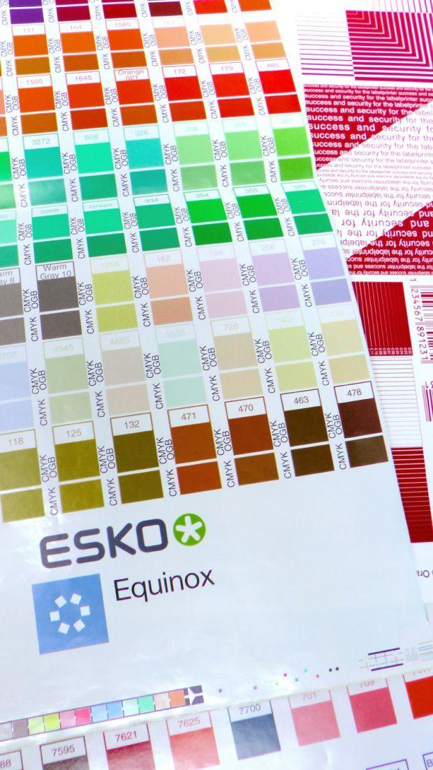 """Um einheitliche Farbstandards zu erreichen, bietet Esko mit """"Esko Equinox Expanded Color Gamut"""" (ECG) eine Lösung zum Druck von Prozessfarben im erweiterten Farbraum"""
