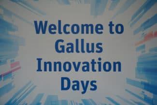 Auf den Innovation Days 2016 erwarten den Besucher Live-Demonstrationen auf Gallus Druckmaschinen mit neuen Features