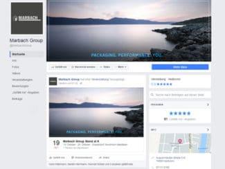 Marbach Facebook-Seite