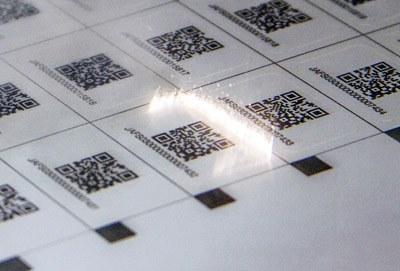 Marzek Etiketten Laserstanze