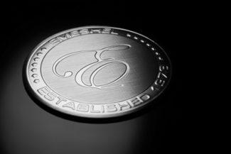 Rathgeber Logo im Aluminium-Look