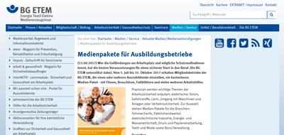 BG ETEM Website