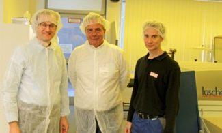 Lüscher MultiDX bei der Schreiner Group