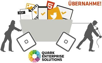 Grafik Quark Übernahme