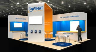 FINAT Labelexpo-Stand
