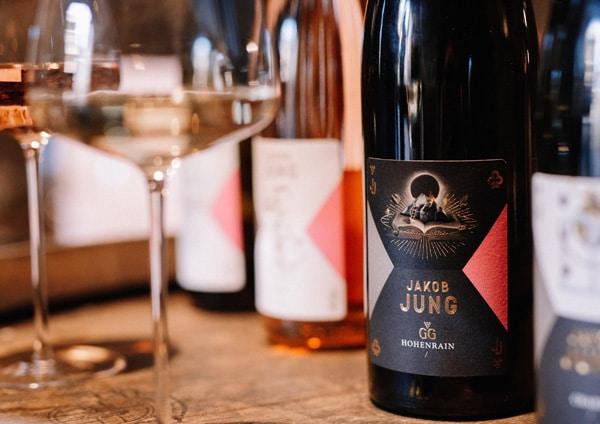 Etikett Weingut Jung