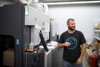 Blue Label Printing HP Indigo