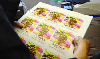 Etiketten zum Print Cocktail