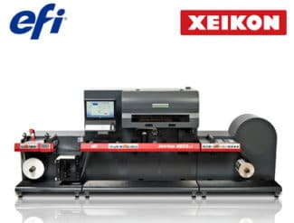 Xeikon EFI Jetrion Digitaldruck