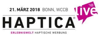 Logo Haptica live 18