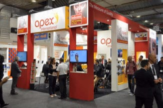 Labelexpo Apex Stand