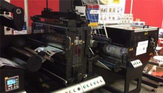 Rotocontrol BL440 auf der Labelexpo