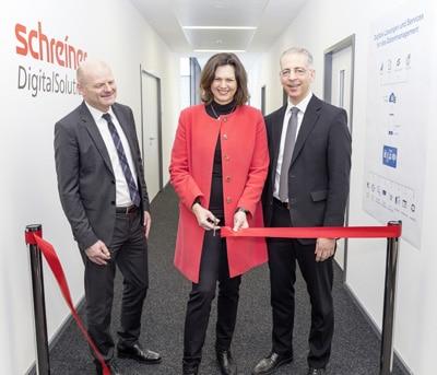 Schreiner Goup Eröffnung Competence Center