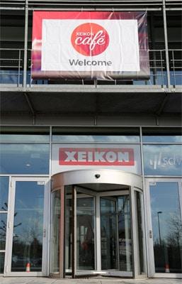 Xeikon Eingang