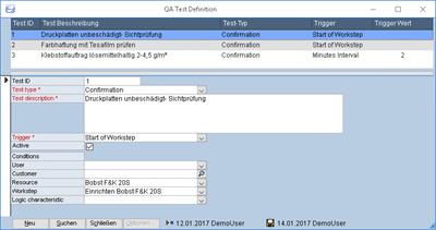 Theurer C3 Qualitätssicherungsstests