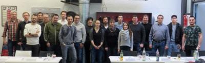Teilnehmer DFTA Flexodruckkurs