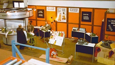 Bluhm Messestand 1979