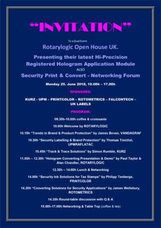 Einladung Rotarylogic