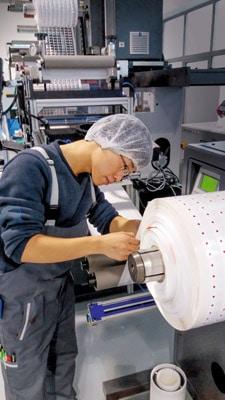 Schreiner China Mitarbeiter