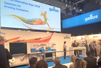Gallus Smartfire Präsentation