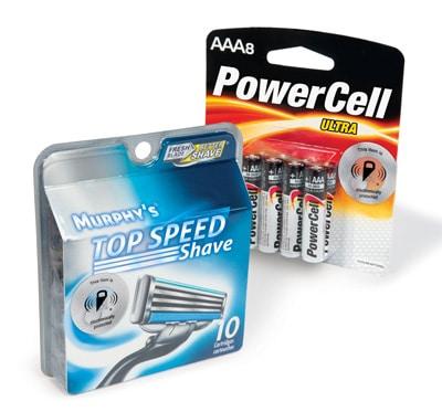 RF-Etiketten Batterie