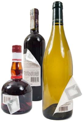RF-Etikett Flaschen