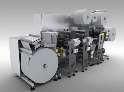 Lesko Etikettendruckmaschine