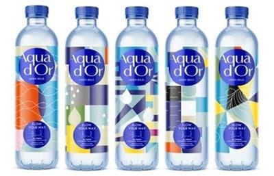 Rako Etiketten Aqua d'Or