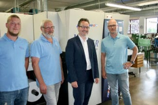 Screen Truepress Jet bei Hauer