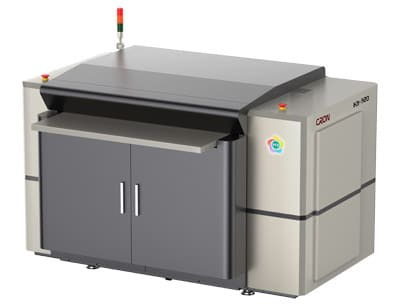 Der Cron HDI Flexo 920 ermöglicht bei Froben Druck eine höhere Qualität und Geschwindigkeit – nicht nur in der Flexoplattenproduktion (Quelle: Dortschy)