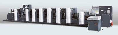 Blick auf die Wanjie WJPS Offsetdruckmaschine (Quelle: Wanjie Europe)