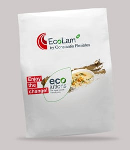 Flexible Verpackung mit EcoLam