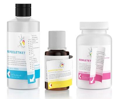 Attraktive Mehrlagenetiketten für verschiedene Anwendungen und in unterschiedlichen Materialsorten von Etiket Schiller