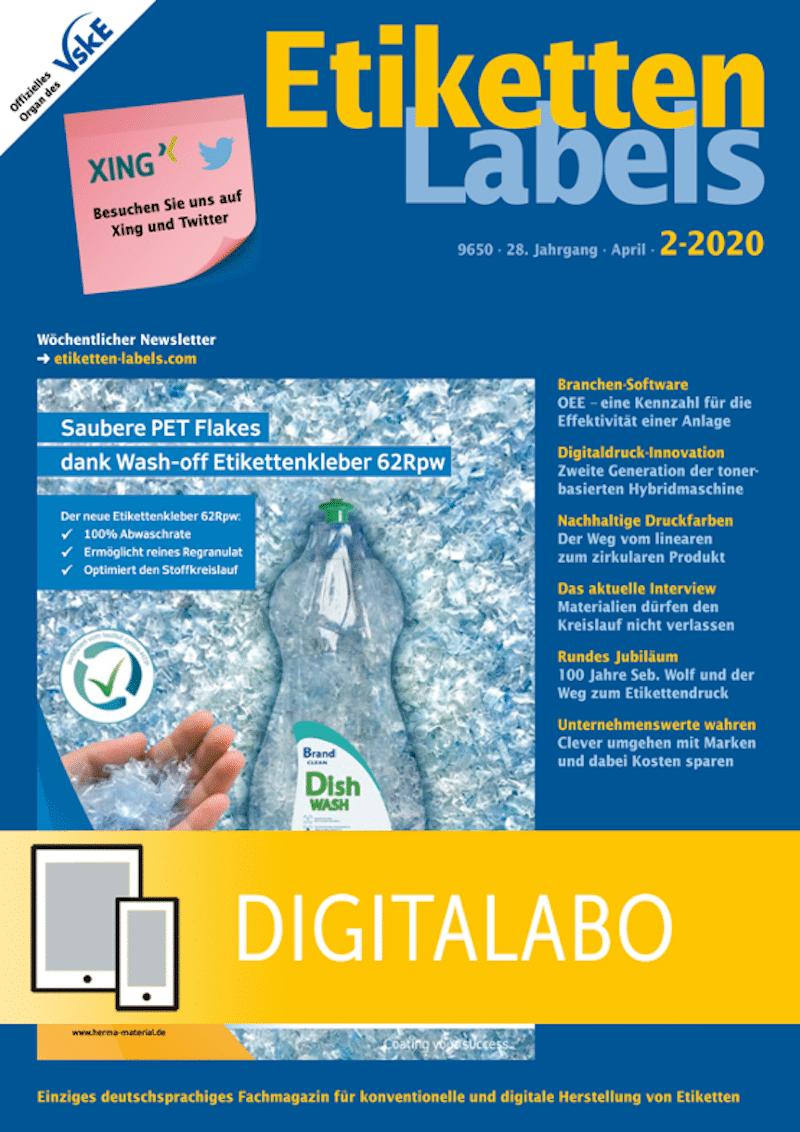 Produkt: Etiketten-Labels Jahresabonnement Digital