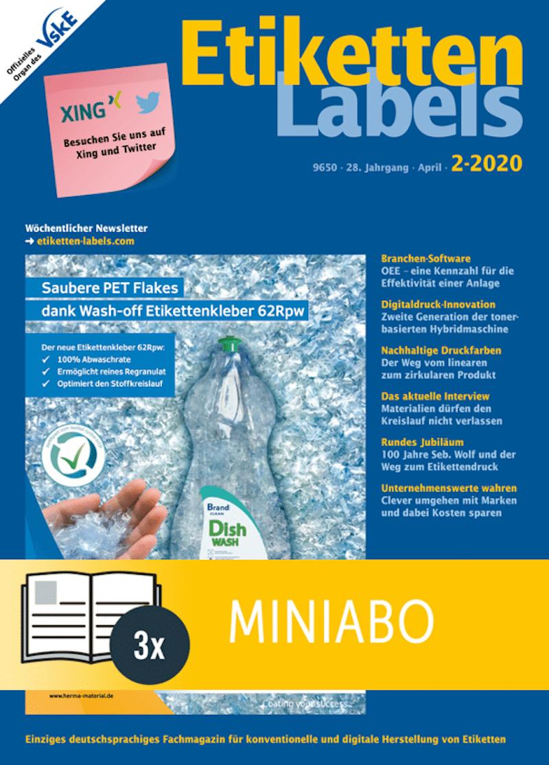 Produkt: Etiketten-Labels Miniabo