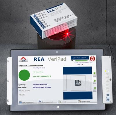 Mobile Prüfung von Codes mit dem VeriPad