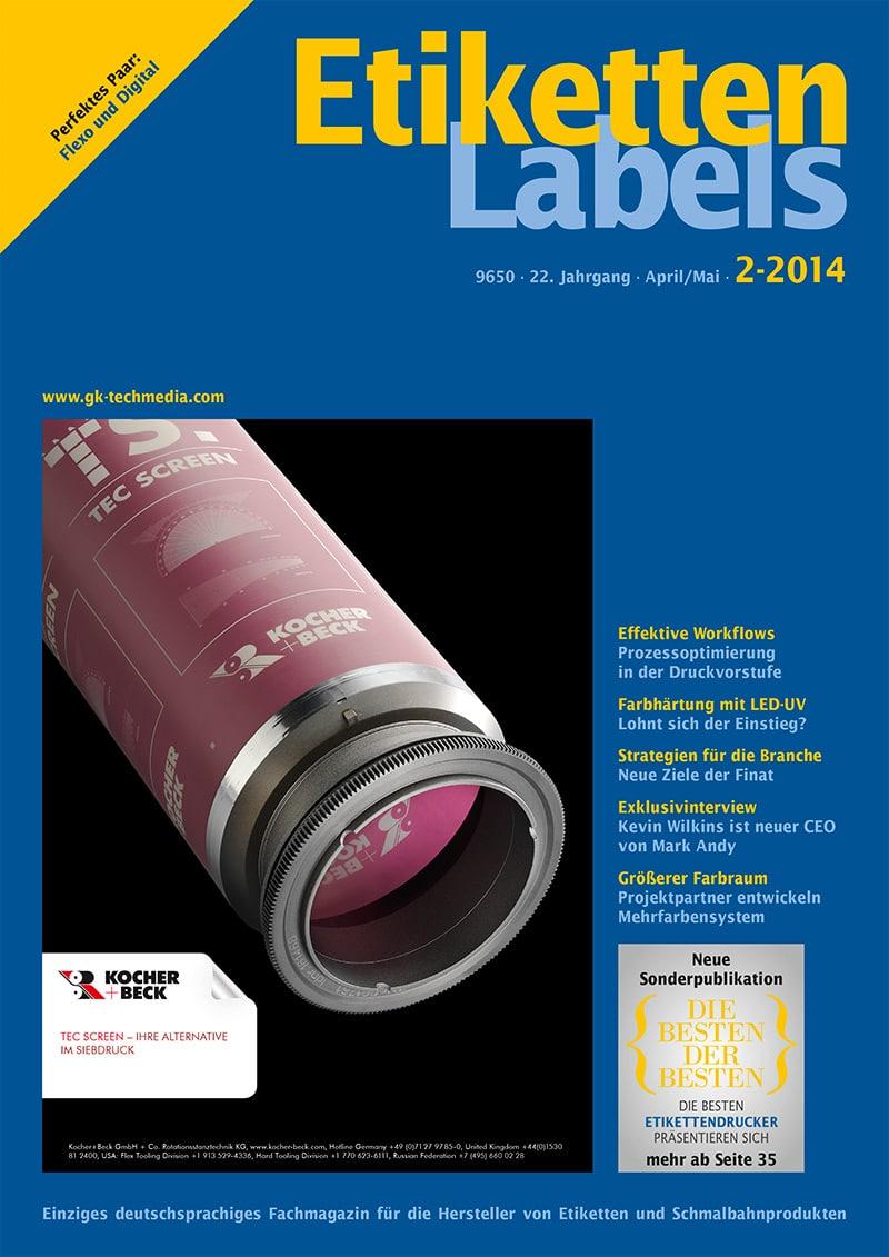 Produkt: Etiketten-Labels Digital 2/2014