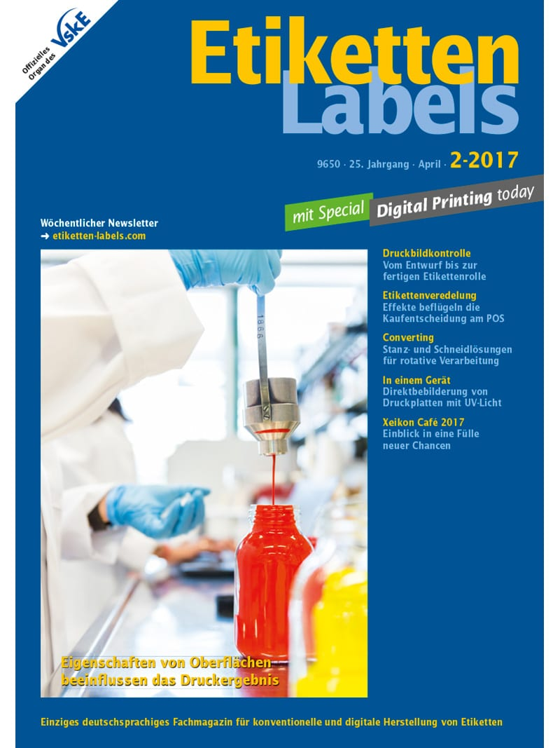 Produkt: Etiketten-Labels Digital 2/2017