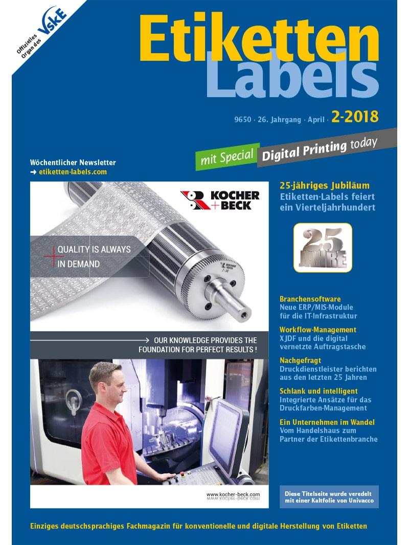 Produkt: Etiketten-Labels 2/2018 Digital