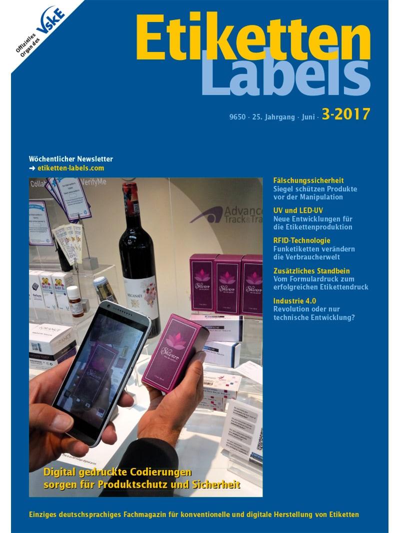 Produkt: Etiketten-Labels Digital 3/2017