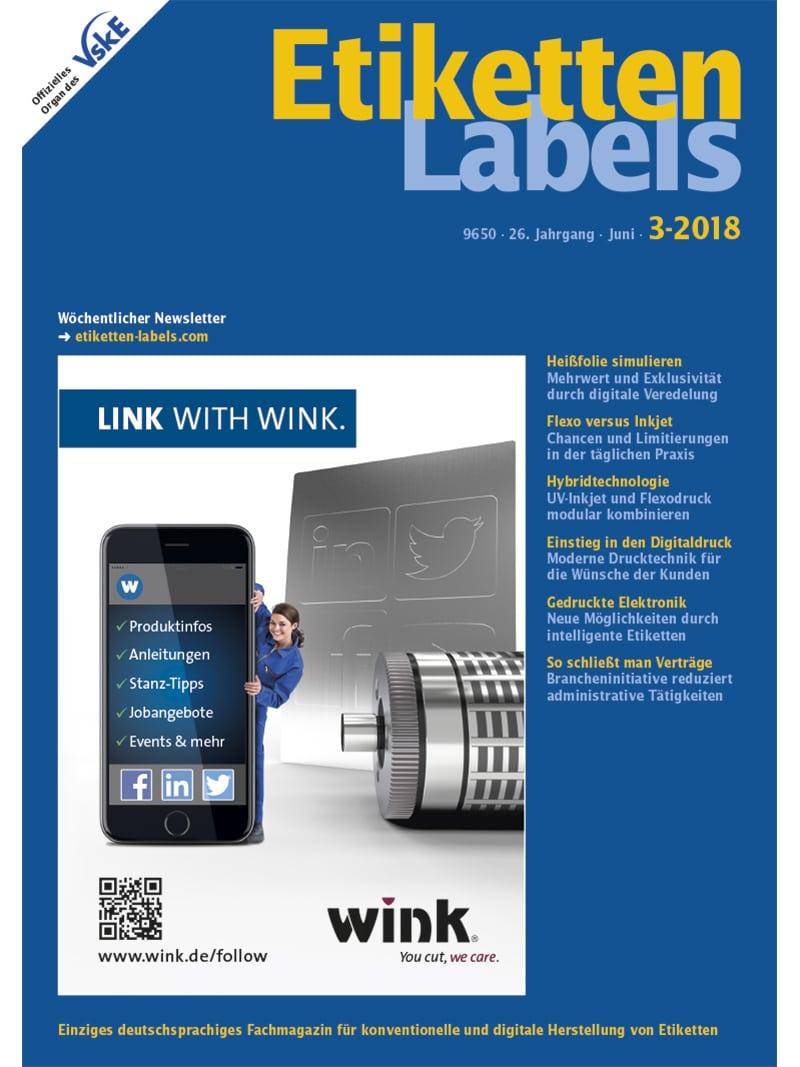 Produkt: Etiketten-Labels 3/2018 Digital