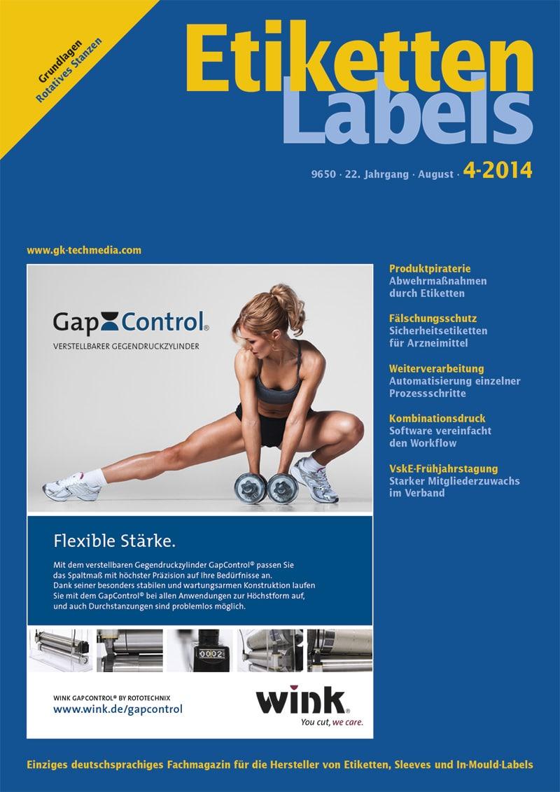 Produkt: Etiketten-Labels 4/2014 Digital