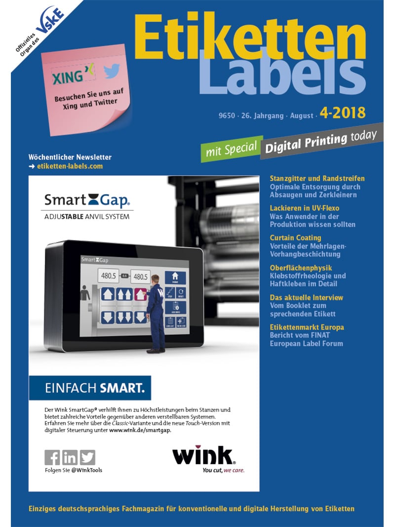 Produkt: Etiketten-Labels Digital 4/2018