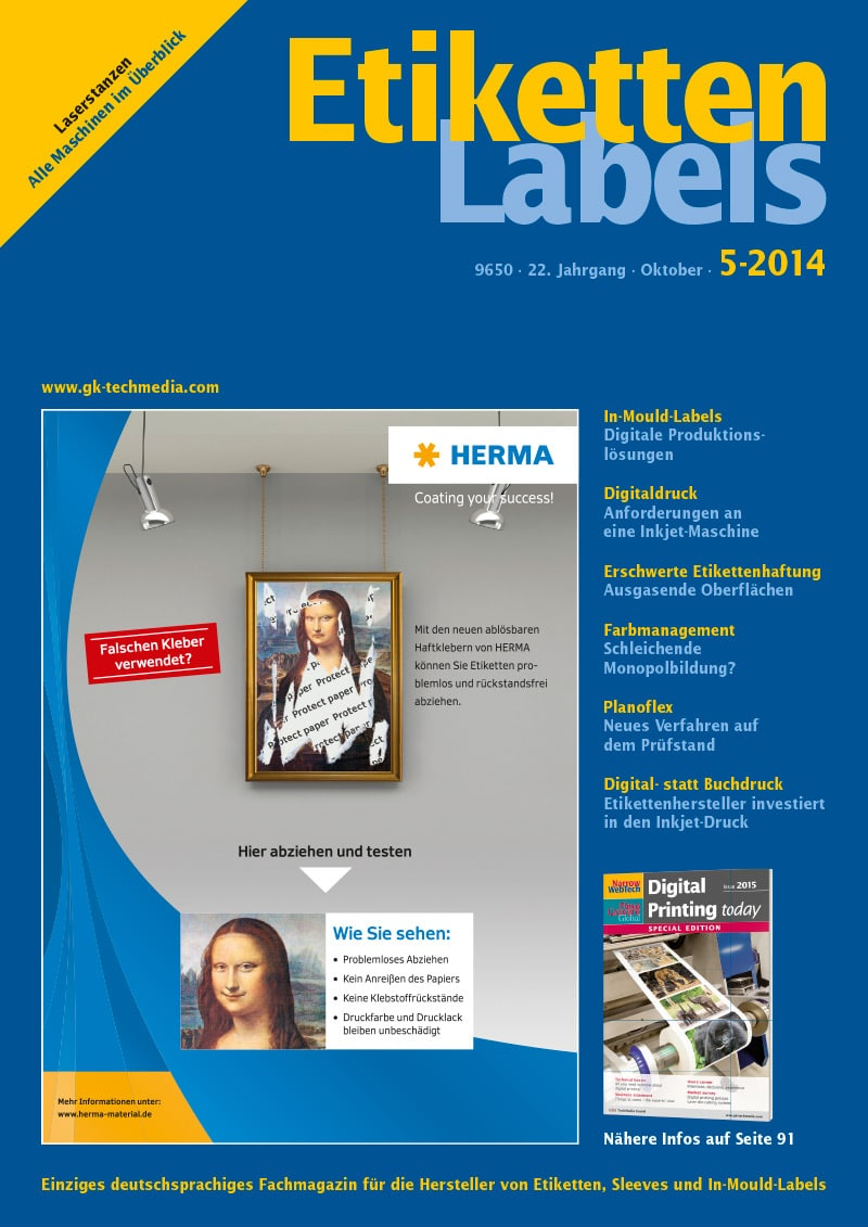 Produkt: Etiketten-Labels Digital 5/2014