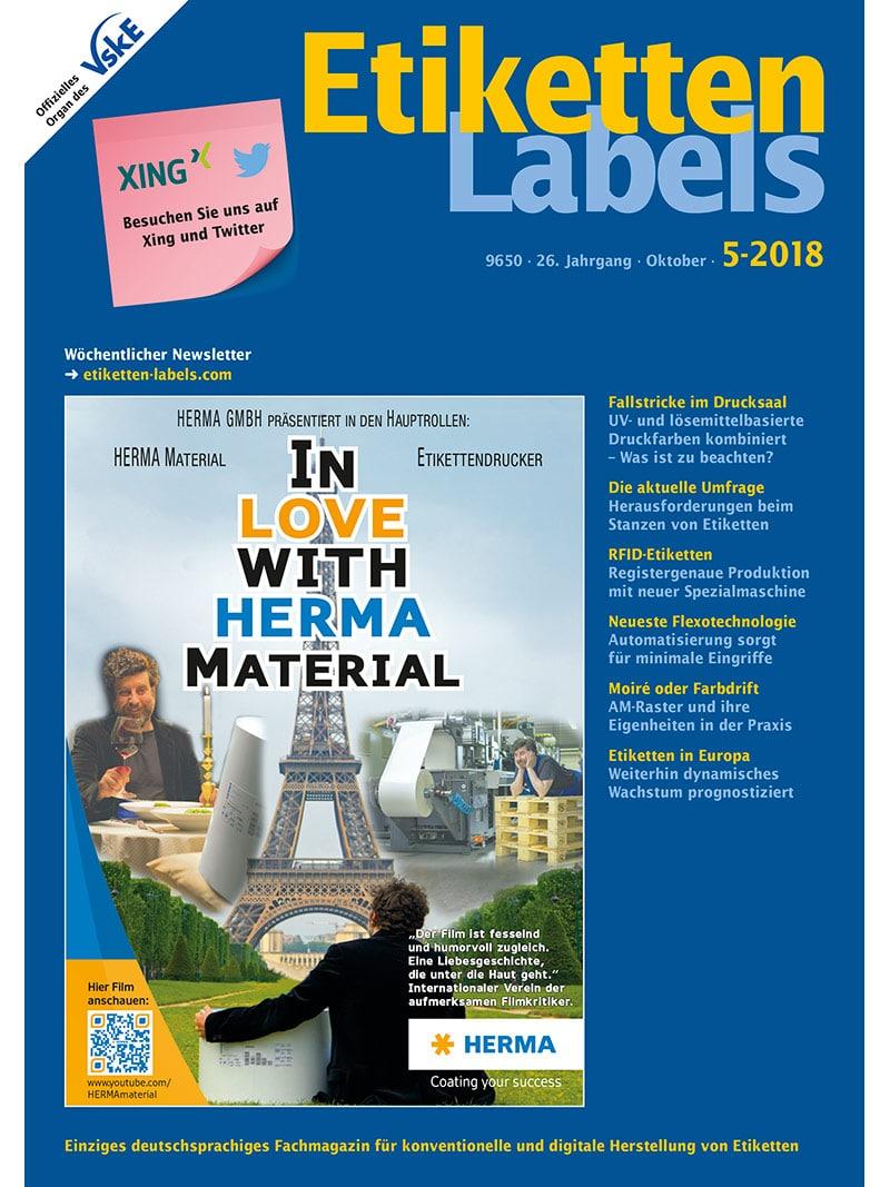 Produkt: Etiketten-Labels 5/2018 Digital