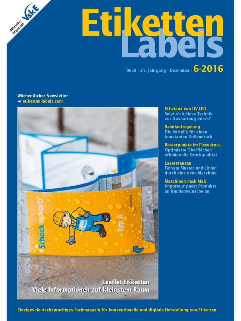 Produkt: Etiketten-Labels 6/2016 Digital