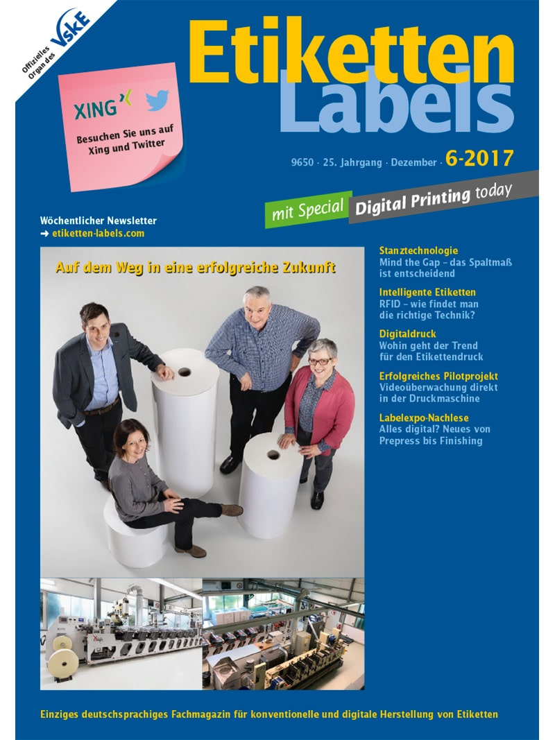 Produkt: Etiketten-Labels Digital 6/2017